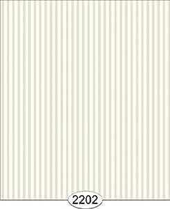 Casa de muñecas en miniatura gris pálido con rayas finas Wallpaper