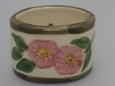 Franciscan Desert Rose Napkin Ring USA Number Backstamp: Amazon.co ...