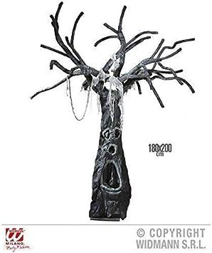 Decoración De Halloween verzauberter Árbol / Decoración grusel / De Halloween / Decoración / Bosque de la bruja / Bosque de miedo Aprox. 200 cm: Amazon.es: Juguetes y juegos