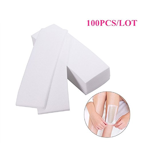 100pcs With special thick non-woven depilatory wax hair removal wax paper