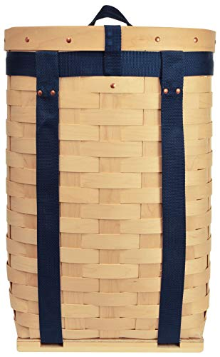 (Trappers Hardwood Veneer Pack Basket 22