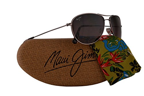 Maui Jim Sea House Sunglasses Rose Gold w/Polarized Maui Rose Lens - Maui Sand Island Jim Sunglasses