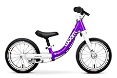 Easy to learn: Geometrically designed with an extremely low step-through entry point and a high cockpit, our little ones can enjoy riding as soon as they start walking. Learn to balance on two wheels and start exploring.