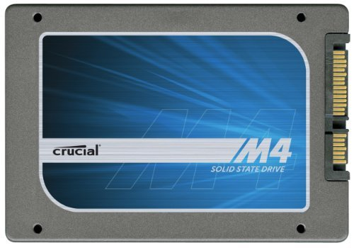 Crucial m4 64GB 2.5-Inch (9.5mm) SATA 6Gb/s Solid State Drive CT064M4SSD2 ()
