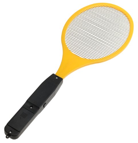 Charcoal Companion Amazing Handheld Electric Bug Zapper Fly Swatter Zap Mosquito - Kill Insects On Contact Pest Control- PBZ-7 ()