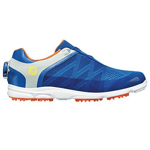 Footjoy Womens Sport Sl Boa Scarpe Da Golf Blu / Grigio-m