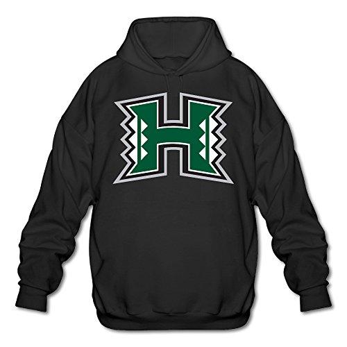 Price comparison product image AUSIN Men's University Of Hawaii - H Logo Hoodie Black Size L