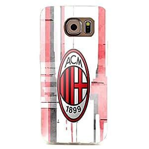 Visual Style 3D Associazione Calcio Milan Phone Case for Samsung Galaxy S6 Edge AC Milan Logo