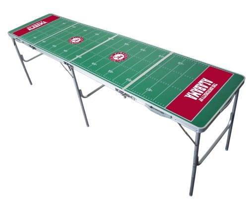 Alabama Crimson Tide 2x8 Tailgate Table by Wild ()