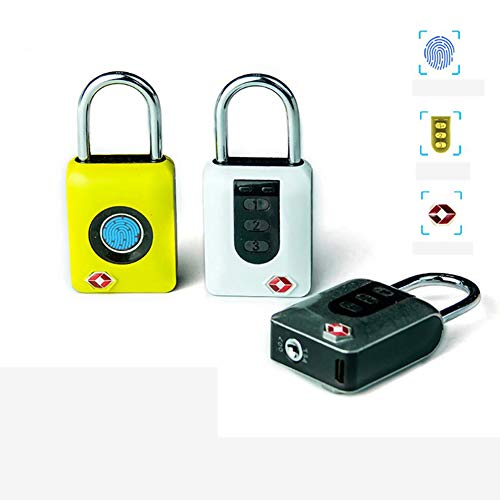 Fingerprint Padlock,Travel Lock, Keyed TSA-Accepted for sale  Delivered anywhere in Canada