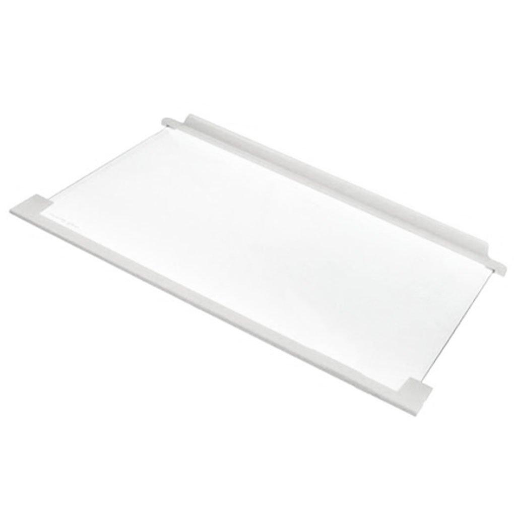 AEG Fridge Freezer Glass Shelf Tray & Plastic Trim (White)