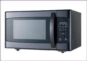 Hamilton Beach 1.1 Cu. Ft. 1000 Watt Microwave, Black Stainless Steel