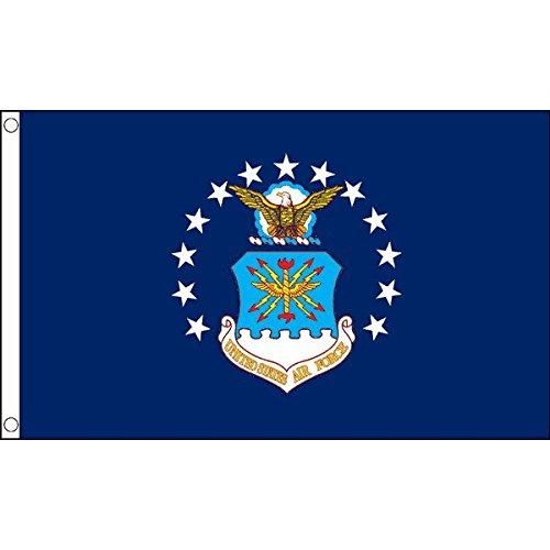 AZ FLAG United States Air Force Flag 3' x 5' - US Air Force - USAF Flags 90 x 150 cm - Banner 3x5 ft ()