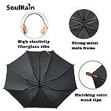 SoulRain Stick Umbrella Automatic Open Curved