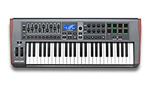 Novation Impulse 49 - Teclado MIDI (USB, 84,6 cm, 33,2 cm, 10 cm, USB) Negro