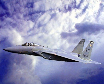 F-15 Eagle Jet Plane Aviation Art Print Poster (16x20) ()