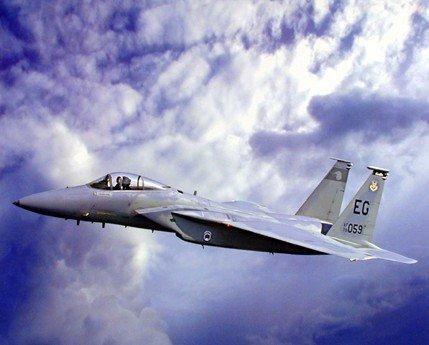 - Aircraft Wall Decor F-15 Eagle Jet Plane Aviation Art Print Poster (16x20)