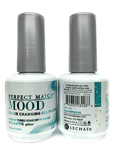 LECHAT - Mood Changing Soak Off Gel Color (MPMG07 - Midnight Pearl) - Mood Pearl