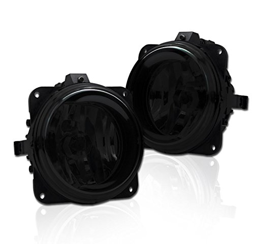 (ZMAUTOPARTS Focus SVT/Mustang Cobra/Escape Bumper Driving Dark Smoke Fog Lights)