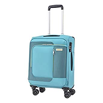 American Tourister Sens Softside Spinner Luggage 55cm with TSA Lock - Turquoise