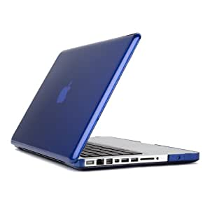 Speck Products See Thru Hard Shell Case for MacBook Pro 13-Inch Aluminum Unibody Only, Cobalt (SPK-A0467)