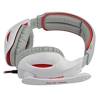 SADES Professional USB PC Gaming Headset with Mic & Remoter