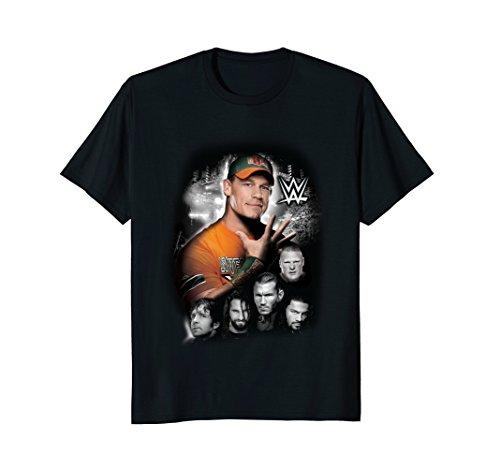 WWE Superstars Surrounding John Cena Graphic T-Shirt by WWE