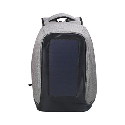 Mochila antirrobo para computadora portátil, bolsas de negocios con puerto de carga USB, resistente al agua, mochila escolar para colegio, mochila de viaje para portátil de 15,6 pulgadas y portátil