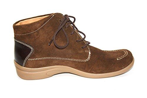 Ganter - Botas de Piel para mujer Marrón marrón Marrón - Braun (mocca/caffee)
