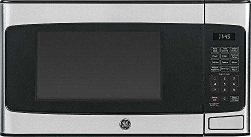 Ge - 1.1 Cu. Ft. Mid-size Microwave - Stainless-steel