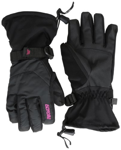 Gordini Black Glove (Gordini Women's Aquabloc Down Gauntlet Gloves, Black, Small)