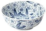 Mino Craft dyeing flower dance Medium Bowl