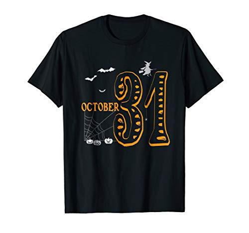 October 31st - Happy Halloween T-shirt