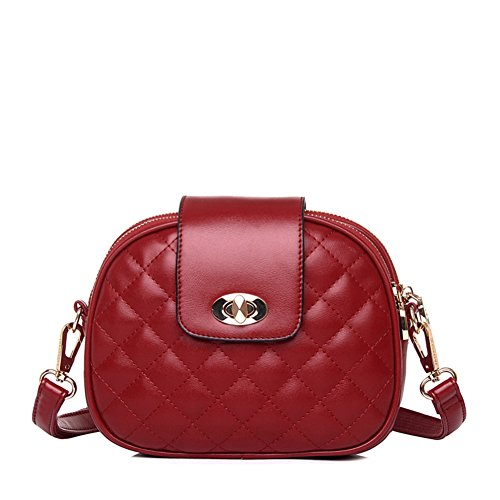 libero ambiente tracolla borsa moda borsa Messenger a a a personalizzato Borsa rotonda Back D carina singola Girl Mini il tracolla per tempo Semplice T8PwO8q