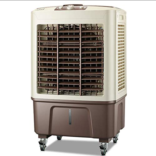 Mobeka Cooling Fan Industrial Air Conditioning Fan Refrigeration Single Cold Air Cooling Fan Water Cooling Commercial Household Mobile Small Air Conditioner (Color : ()