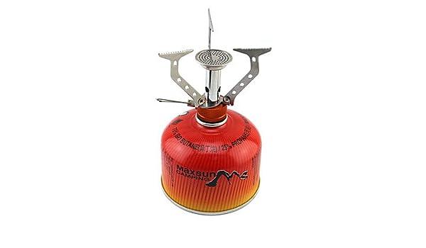 genérico Al aleación y acero inoxidable integrado estufa plegable (200W): Amazon.es: Deportes y aire libre
