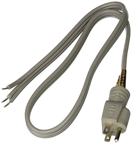 Certified Appliance Accessories 15-Amp Straight-Plug Appliance Power Cord, 3ft ()