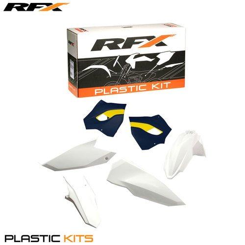 (RFX FXPK 70800 55OE Husqvarna TE-FE125-250-300-350-450-501 15≫ On Plastic Kit, Multicolour)