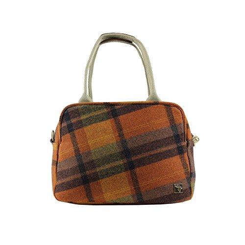 Check Bag Day Tweed Orange Tote XBISqp