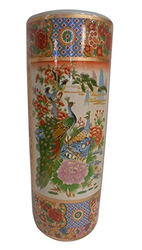 Beautiful Hand Painted Floral Vase (22