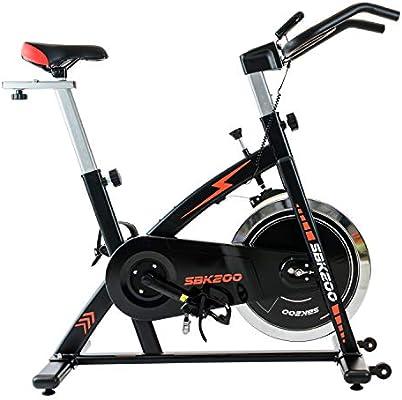 TechFit SBK200 Bicicleta de Spinning por Ejercicios, Volante de ...