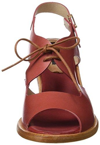 Neosens Rosso Toe Restored Sandali Donna geranium Negreda Skin S980 Geranium Open rgq1wBzxr