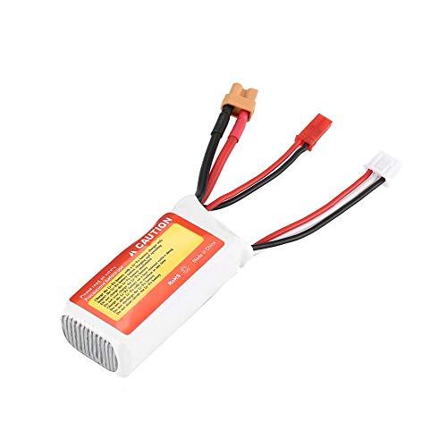 loonBonnie ZOP Power 7.4V 750mAh 75C 2S 1P Lipo Bater/ía JST XT30 Enchufe Recargable para RC Racing Drone Helic/óptero Coche Modelo de Barco