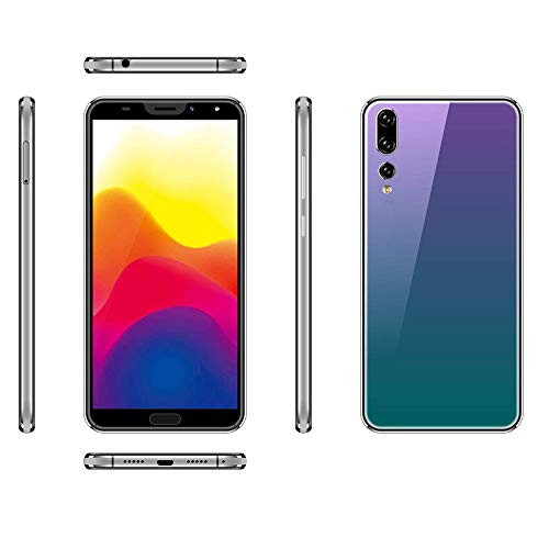 Unlocked Smartphone,2019 New Eight Cores 6.1 inch Dual HD with Camera Android 8GBDual SIM Mobile Phone Cell Phone (Purple)