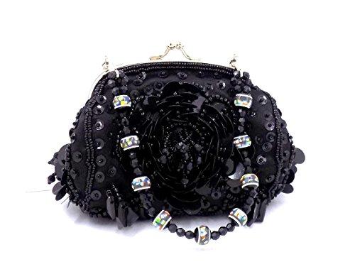 Premium Leather, Poschette giorno donna nero Black
