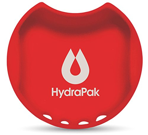 Hydrapak Watergate Wide Mouth Splash Guard, Golden Gate Red , 63mm