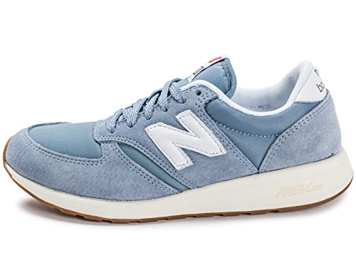 New Balance Mens 420 Re-Engineered Mens Light Blue Sneakers luz azul/blanco