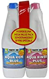 Thetford Aqua Kem Toilet Fluid and Rinse Duo Pack - 2 x 1.5 Litre - white