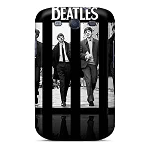 PhilHolmes Samsung Galaxy S3 Shock Absorption Hard Phone Cover Allow Personal Design Vivid The Beatles Series [Tkj13478WbXw]