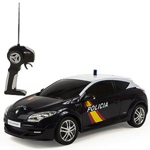 Mondo Toys - Renault Megane Policía Nacional Española, coche con radiocontrol 1:14 (63202) 18